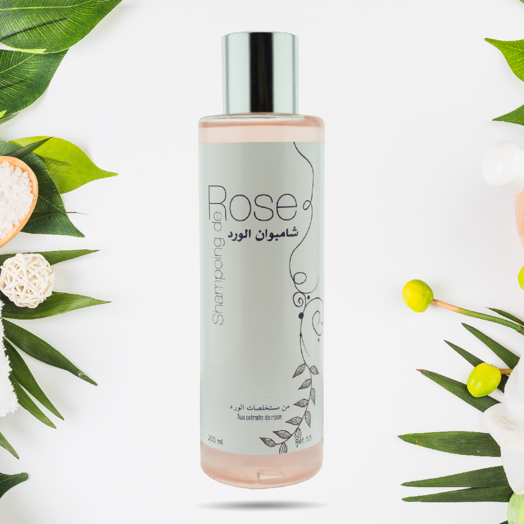 SHAMPOOING ROSE