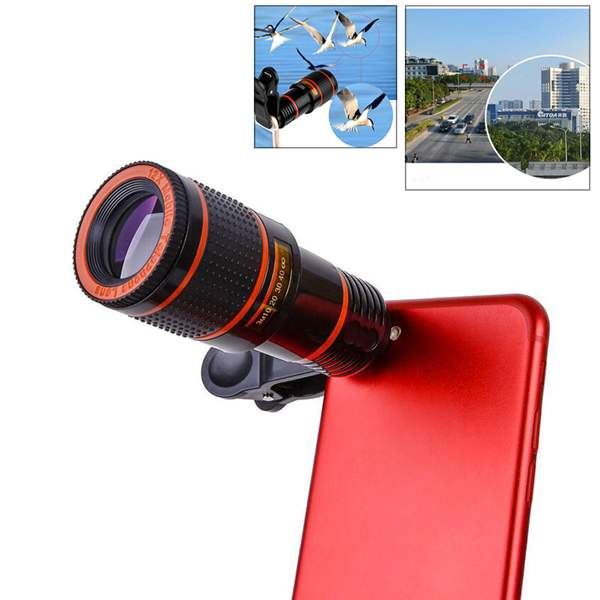 Mobile phone telescope 12x zoom