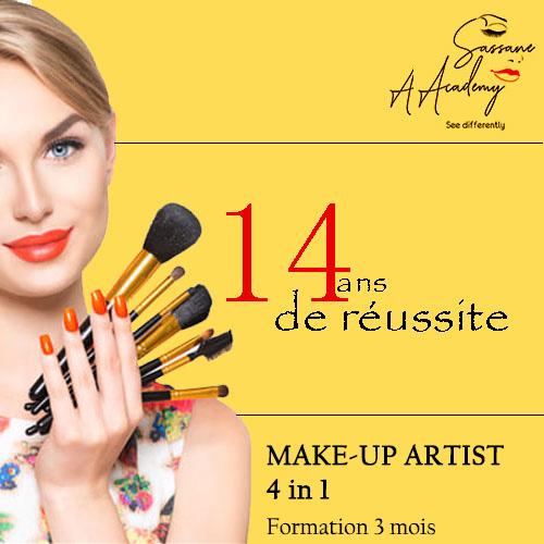 Make up Artist 4 in 1